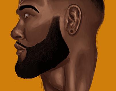 Procreate Portrait Study 2