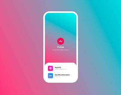 Pulse. Medical App.