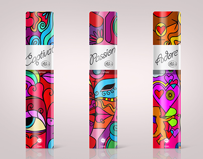 Packaging Design for Deo Spray