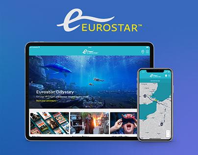 Eurostar onboard infotainment
