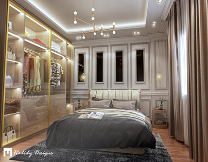 Single Bedroom Design and Visualization