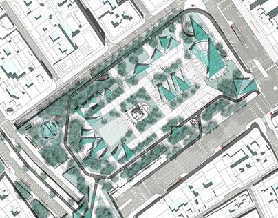 ARQupuntura - Renovación de la Plaza de España MADRID