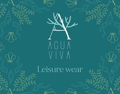 Agua viva leisurewear