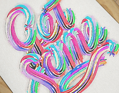Hand Painted Typography