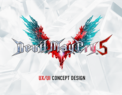 Devil May Cry 5 UX/UI concept design