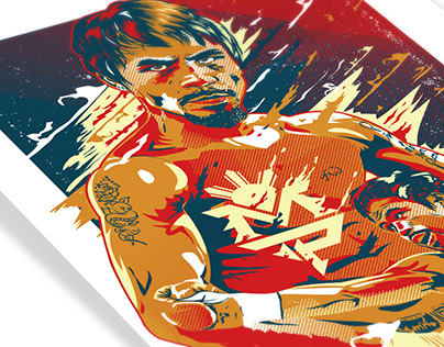 "Poster : Manny ""Pacman"" Pacquiao"