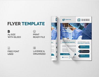 Healthcare and medical Flyer Design