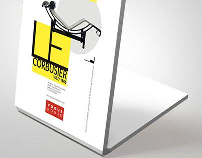 Afiche Le Corbusier