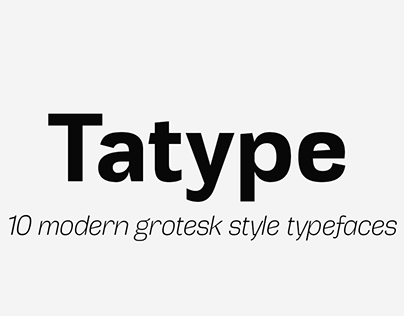 Tatype   Typeface