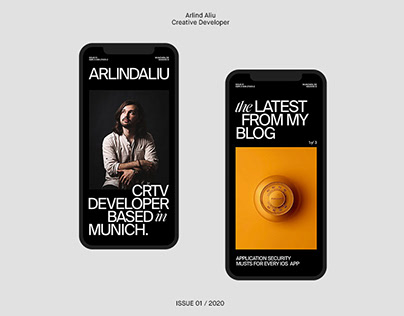 Arlind Aliu - Website