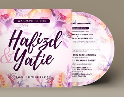 CD Wedding Invitation Card