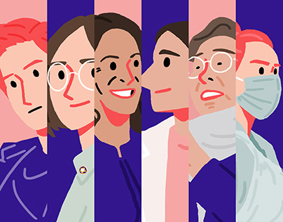 International Women's Day 2021 - Illustration Series