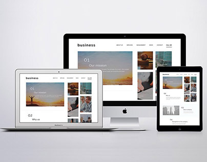 Simple Business PSD Template