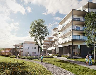 Norway residential buildings