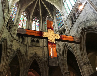 Croix Glorieuse, 2019, Cathédrale St André de Bordeaux.