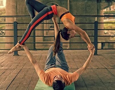 Couples Acro-Yoga