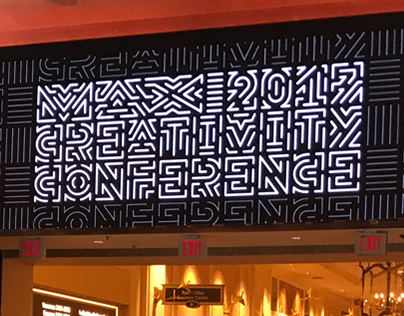 Adobe MAX 2017 event graphics