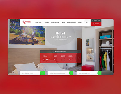 Grand Hôtel Dauphiné — Webdesign
