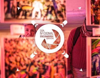 Día Nacional de la Fotografía Colombiana Canon