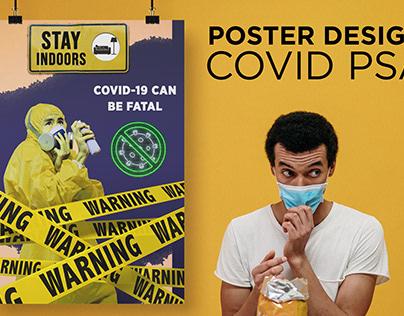 POSTER DESIGN FOR COVID PSA