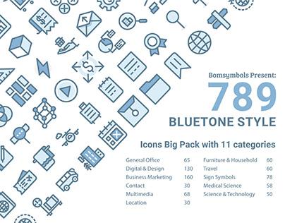 Bluetone Icons Big Pack
