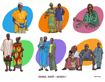 Zanbal Inked -Season 1
