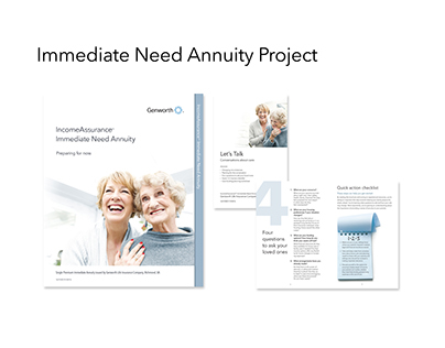 Immediate Need Annuity Project