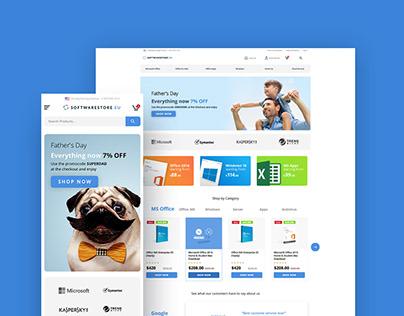 Software.eu Store - UI/UX