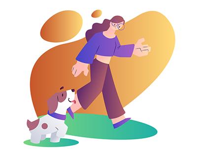 Paw Buddy | Dog Care Illustrations