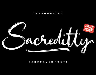 FREE Sacreditty Font