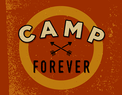 Camp Forever logo and shop