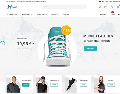 Интернет-магазин: немецкой одежды (MOVE)