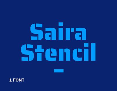 Saira Stencil