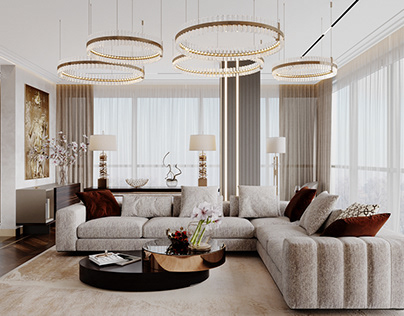 Beautiful apartment in DeLuxe Residental complex