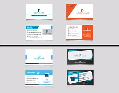 Creative business card template design