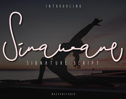 Sinawane Signature Script