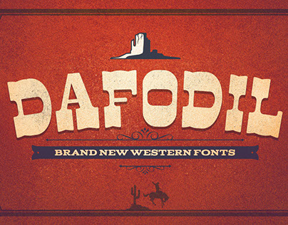 DAFODIL - Brand New Western Typefaces