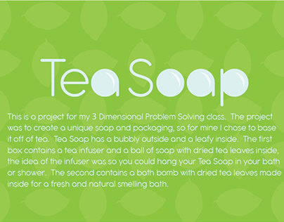 Tea Soap Packaging