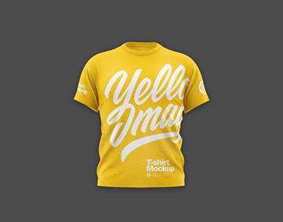 Men's T-Shirt Mockup PSD