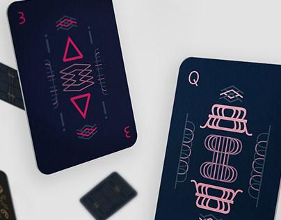 Skia - Typographic Playing Cards