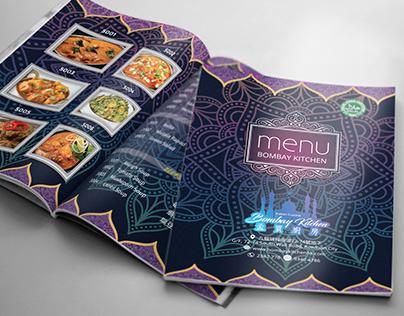 Traditional Food Menu Book Design
