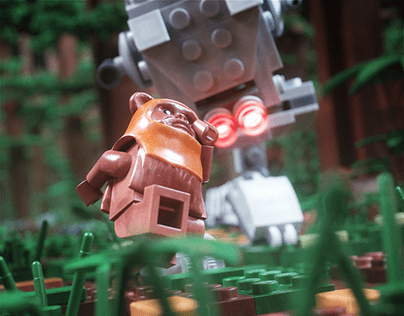 What you gonna do when the AT-ST comes for you?