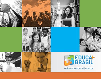 Portfólio Impresso - Diagramação Educa Mais Brasil