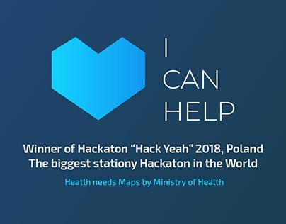 """ICanHelp - Winner of Hackaton """"Hack Yeah"""" 2018"""