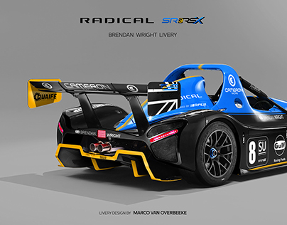 RADICAL SR3 RSX | Brendan Wright | Custom Livery