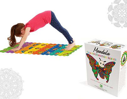 Mandala Transformation Series   Book Cover Design