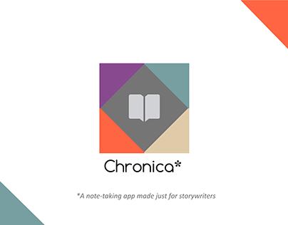 Chronica* | Mobile UX/UI Design