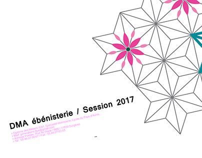 DMA ébénisterie / Session 2017