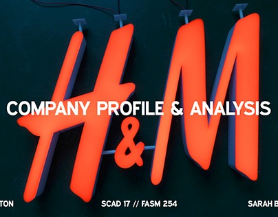 Company Profile & Analysis // H&M