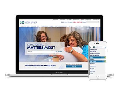 Western Maryland Health System Web Redesign